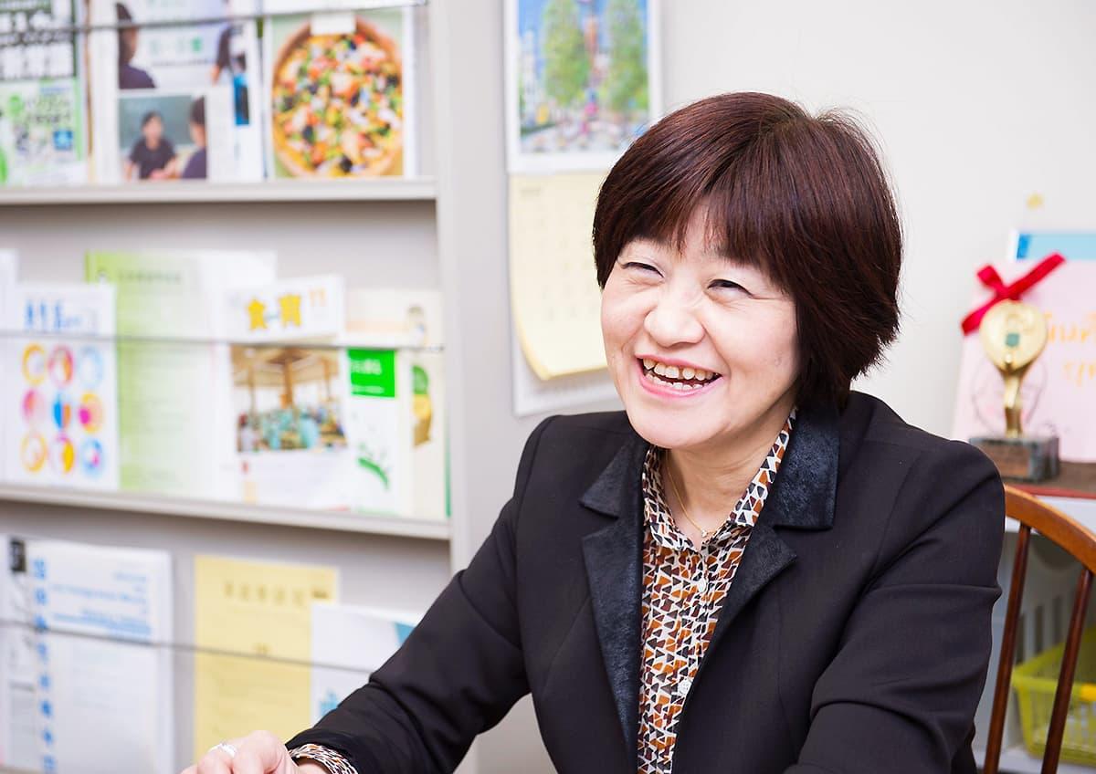 イメージ写真_京都教育大学家政科教授_湯川夏子先生_インタビュー風景