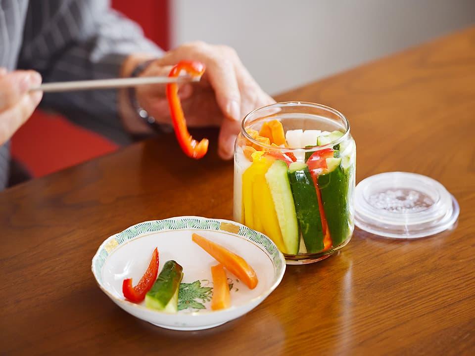 サブ画像_スティック野菜の甘酢漬け