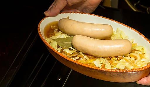 調理工程06_180度に余熱したオーブンに入れる