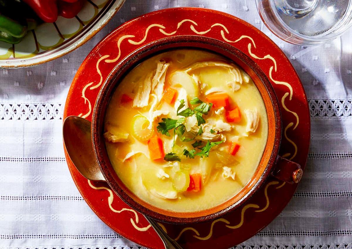 料理写真_ベラチョルバ_上から撮った写真