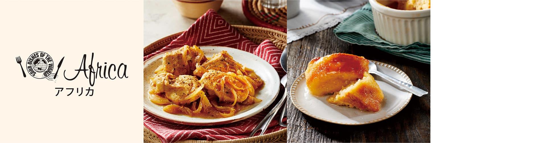 イメージ画像_世界のうまずっぱい料理_大陸の料理一覧_アフリカ編