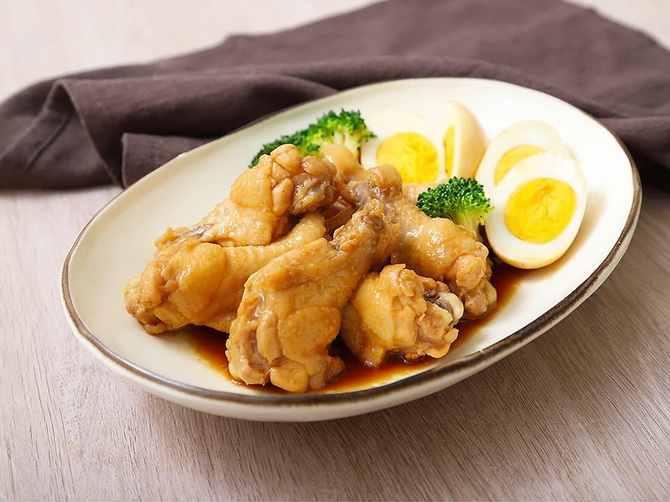 料理写真_鶏のさっぱり煮