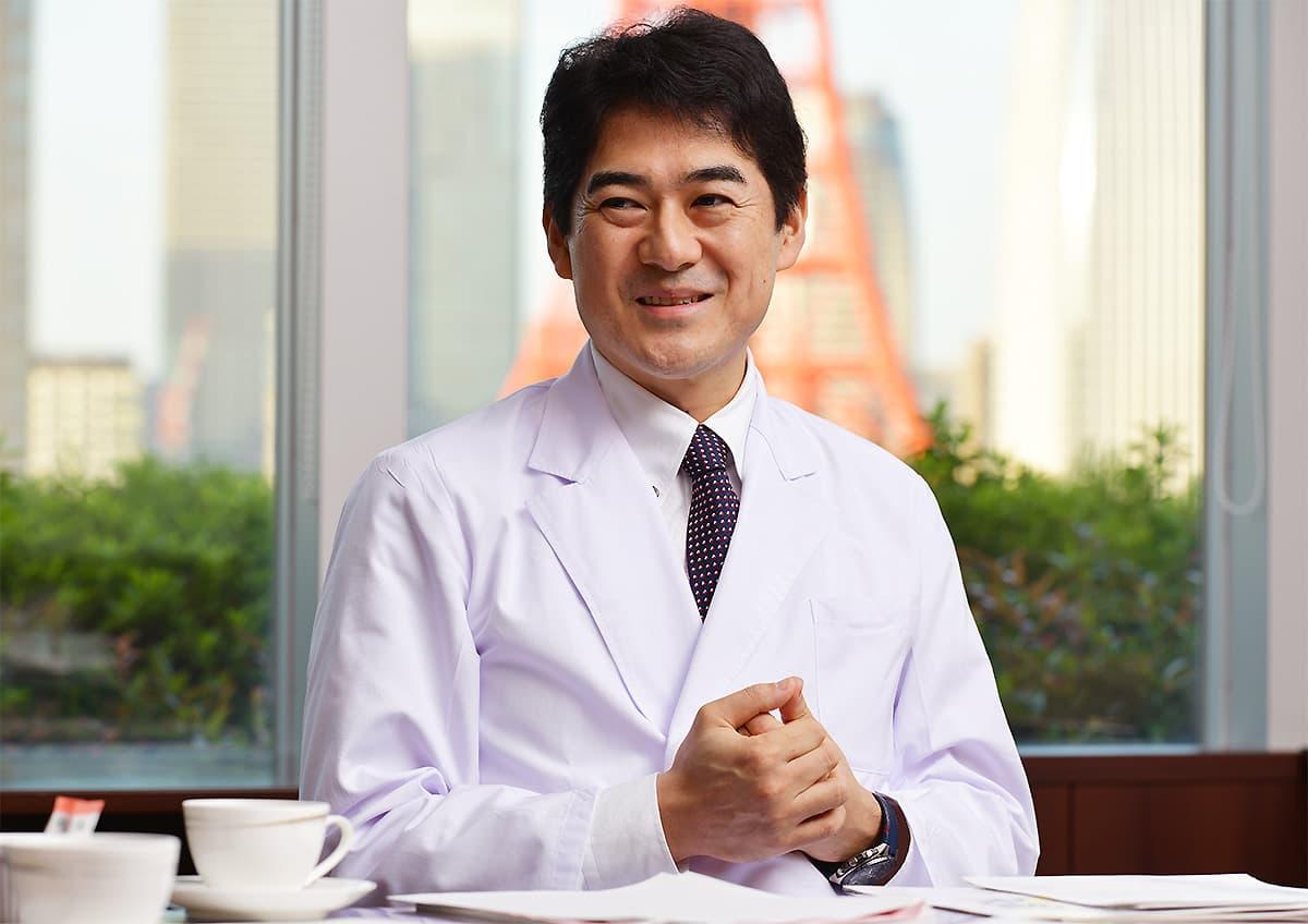 イメージ写真_糖尿病専門医_坂本昌也先生_インタビュー風景