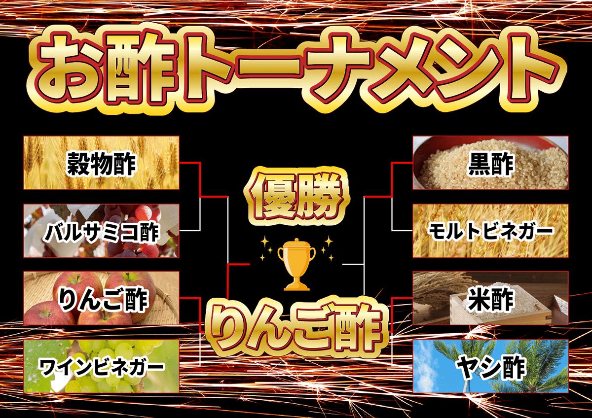 イメージ画像_お酢トーナメント_結果発表_結果