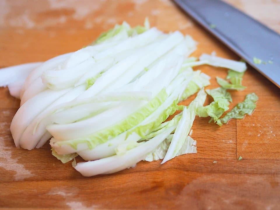 調理写真_カットした白菜