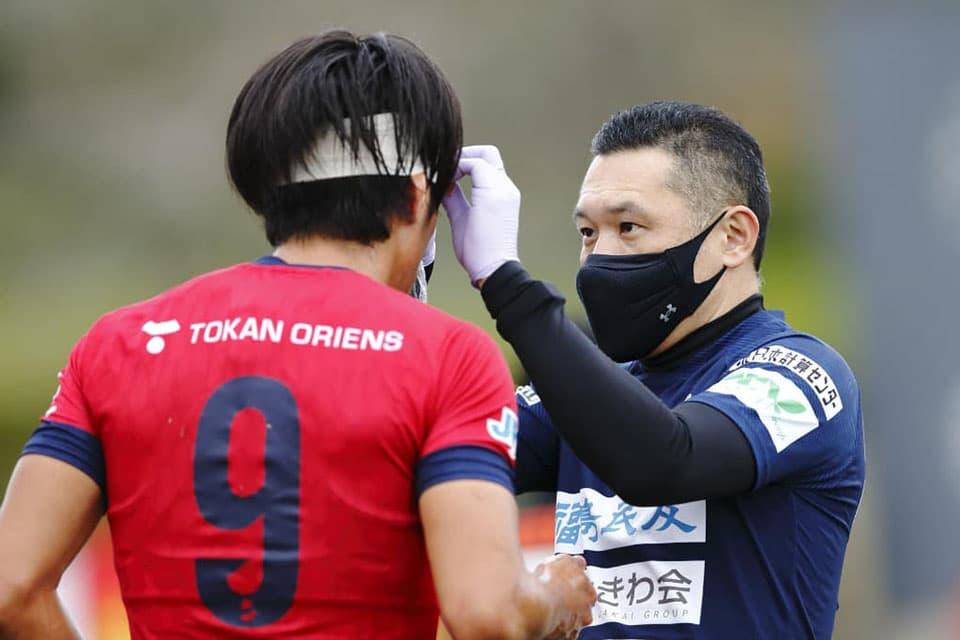 提供画像_いわきFCのチームドクターを務める斎田先生